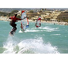 Kite boarder Photographic Print