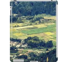 Rural Japan Rice Fields Forest Countryside Village iPad Case/Skin