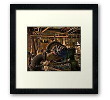 """Coal """"Breaker"""" Machinery Framed Print"""