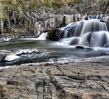 Summer Hill Creek Waterfall by Sarah Donoghue