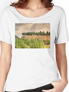 a mysterious landscape... Women's Relaxed Fit T-Shirt