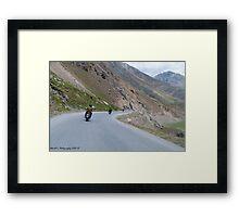No Limits .... Bikers Framed Print