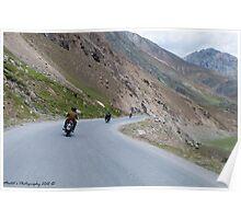 No Limits .... Bikers Poster