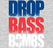 Drop Bass Not Bombs (Australia) [Stencil Series] Mens V-Neck T-Shirt