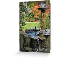Water Boy Greeting Card