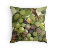 Winery Grapes Throw Pillow