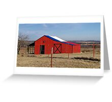 Proud to Live in Texas! Greeting Card