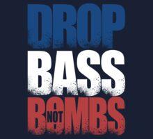 Drop Bass Not Bombs (France) [Stencil Series] by DropBass