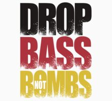 Drop Bass Not Bombs (Germany) [Stencil Series] One Piece - Short Sleeve