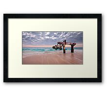 Jurian Bay Jetty Framed Print
