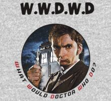 WWDWD - What Would Doctor Who Do? One Piece - Long Sleeve