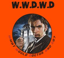 WWDWD - What Would Doctor Who Do? Kids Clothes