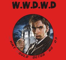 WWDWD - What Would Doctor Who Do? Kids Tee