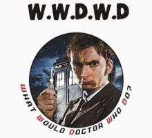 WWDWD - What Would Doctor Who Do? Baby Tee