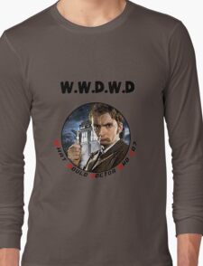 WWDWD - What Would Doctor Who Do? Long Sleeve T-Shirt
