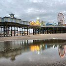 Central Pier-Blackpool . by Lilian Marshall
