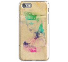 Splatter girl Sailor iPhone Case/Skin