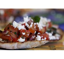 Bruschetta Photographic Print