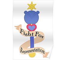 Fight for REPRESENTATION! Poster