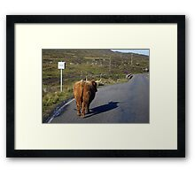 The passing place Framed Print
