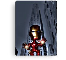 Trouble in NYC Canvas Print
