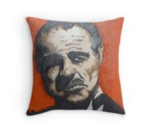 """Don Corleone"" Throw Pillow"