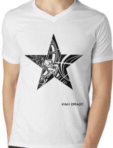 Crack Star Mens V-Neck T-Shirt
