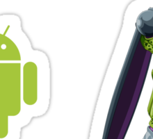 Present and Future Android Sticker