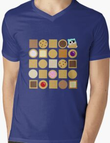 Biscuits Mens V-Neck T-Shirt