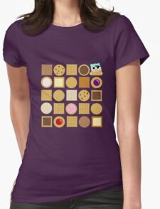 Biscuits Womens Fitted T-Shirt