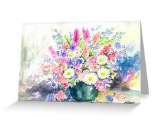 FLOWER STILL LIFE Greeting Card