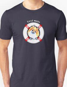 Pomeranian First Mate T-Shirt
