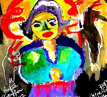 Art  Brut  Woman by Kater