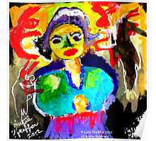 Art  Brut  Woman Poster