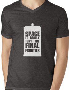 Not the Final Frontier Mens V-Neck T-Shirt