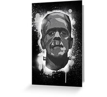 Stencil Boris K Greeting Card