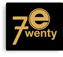 Entertainment 720 - Oversized logo Canvas Print
