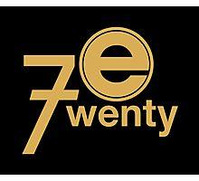 Entertainment 720 - Oversized logo Photographic Print