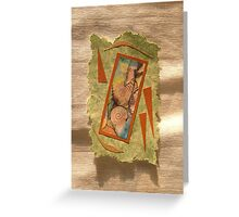 Window In Time Greeting Card