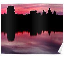 angkor - the very morning light Poster