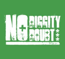 """No Diggity - No Doubt"" - Light Kids Tee"