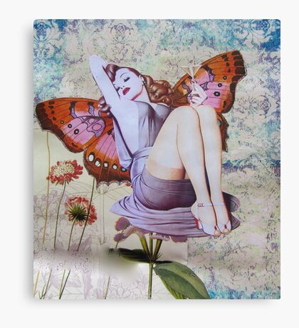 Pinup Girls: Veronica Canvas Print