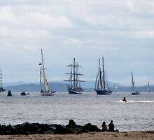 TALL SHIPS LEAVE LIVERPOOL by gothgirl
