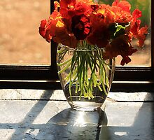 Sunshine in a vase by Antionette