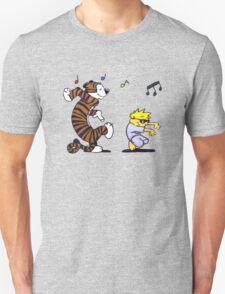 Calvin and Hobbes Dancing T-Shirt