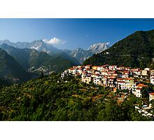 Antona - City in Tuscany, Italy Photographic Print