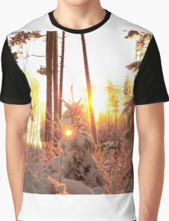 Winter on fire Graphic T-Shirt