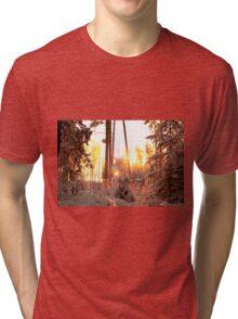 Winter on fire Tri-blend T-Shirt