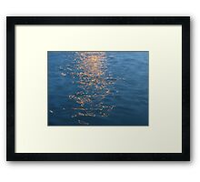 REFLECTION PATTERNS Framed Print