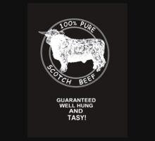 100% Scotch Beef  by Steve  Ward